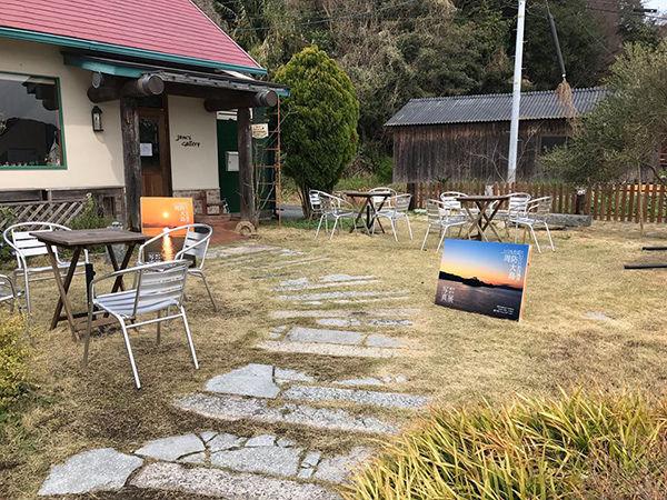 ガーデンの芝生広場もギャラリーとして使用できます