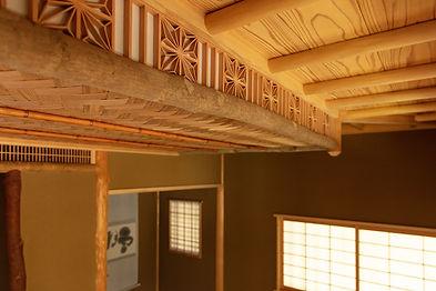 お茶室の天井