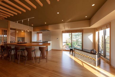 和風建築・和風住宅   サロン   東京都   椿建築デザイン研究所