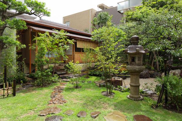 東京都港区の茶室「華久庵」外観