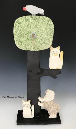 Pet Memorial Clock
