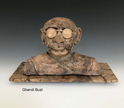 Ghandi Bust