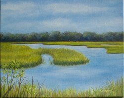 Middle Island Marsh