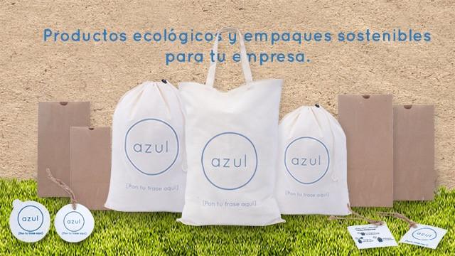 Productos ecológicos que incluyen tocuyo y otros materiales ecológicos