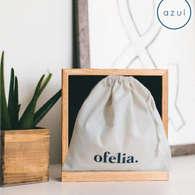 Las Bolsas de tocuyo Sleeping Bag en cajas de madera