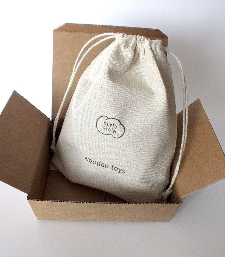 Las bolsas de tocuyo son muy usadas como empaque premium de productos