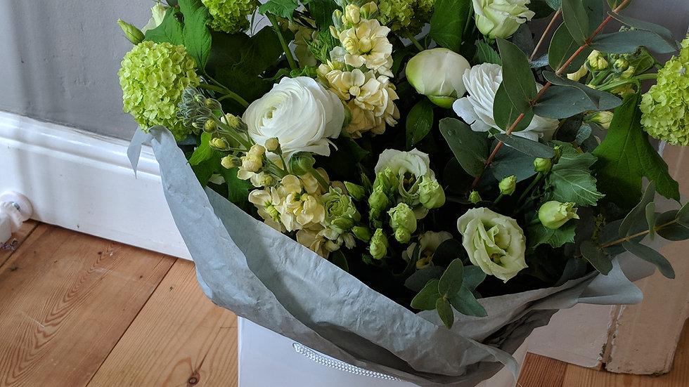 Whites & Greens Bouquet