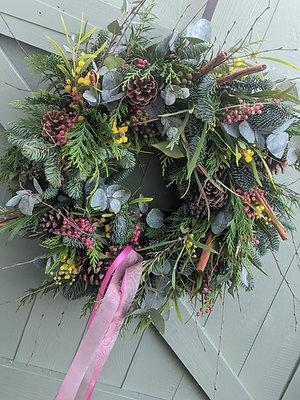 Princess Door Wreath