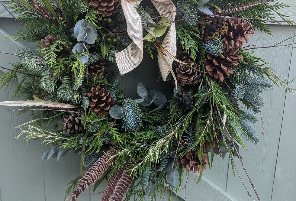 *Woodland Christmas Wreath