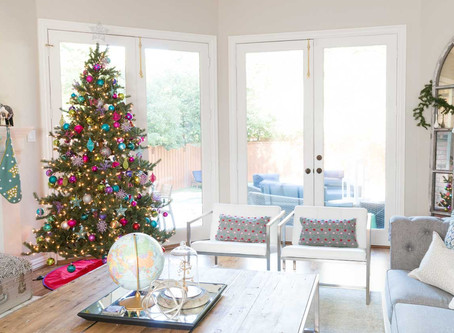 holiday home tour: merry + bright