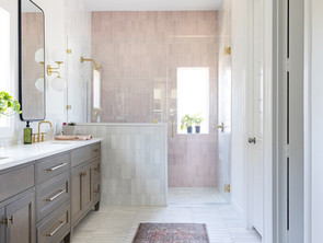 design inspiration : pink bathrooms