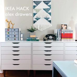 IKEA hack - alex upgrade