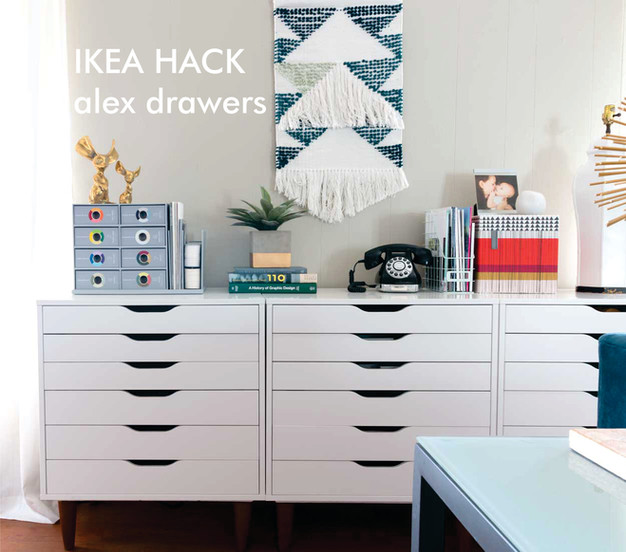 IKEA hack - alex upgrade