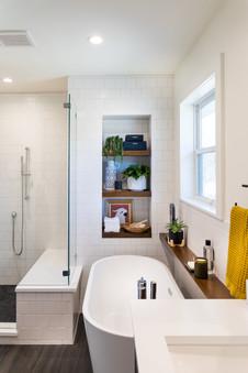 modern bathroom remodel