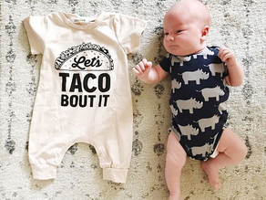 let's taco bout it: business + baby updates