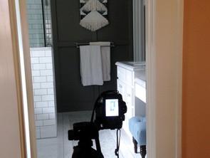 Behind the scenes - craftsman bungalow master bath