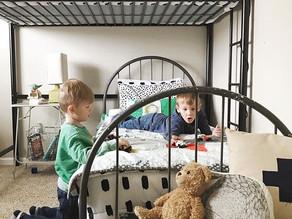 Shared boys room: design inspiration