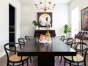 holiday in a hurry dining room makeover reveal
