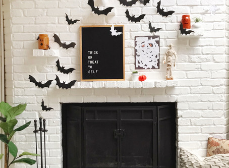 super chic halloween decorating ideas