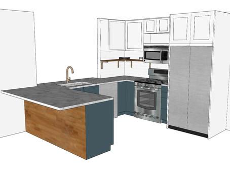 DIY kitchen reno plan and progress - we might be crazy
