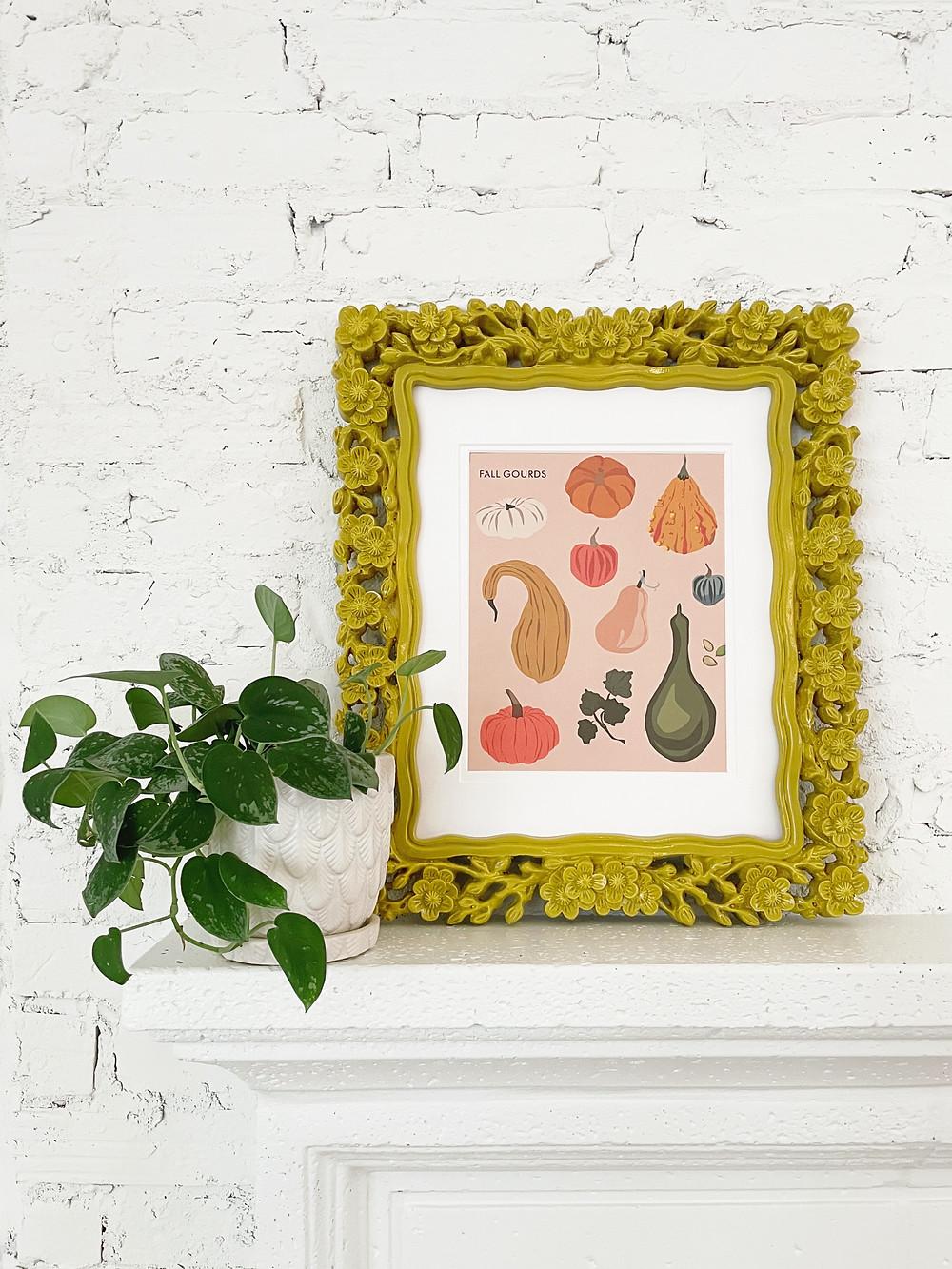 TLD favorite fall decor finds gourd digital print