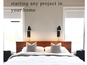 the ONE THING you should do before starting any project in your home