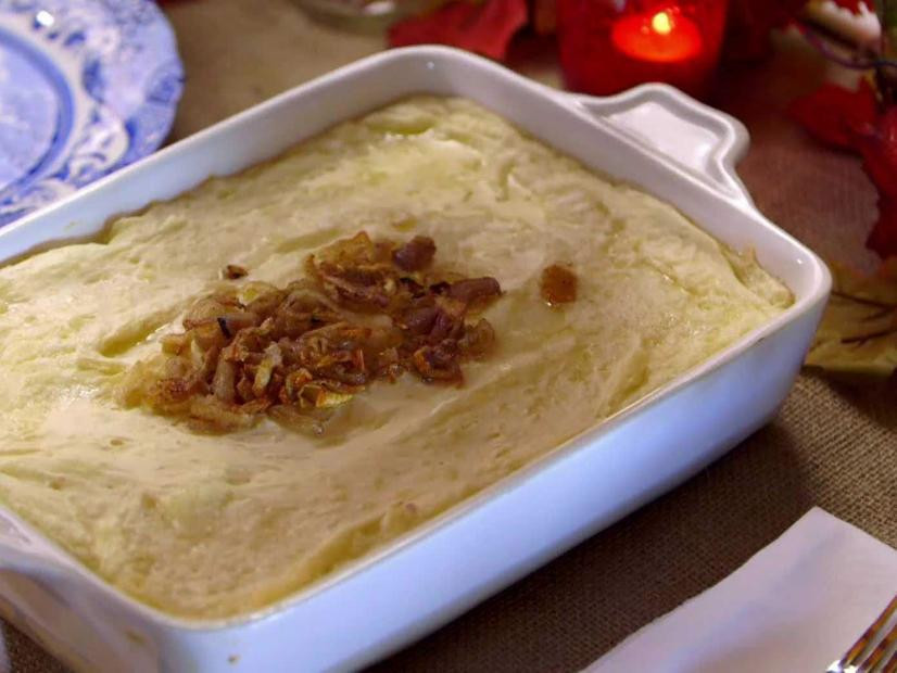 TLD shallot mashed potatoes