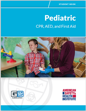 HSI Ped: CPR/AED/First Aid - Blended Format