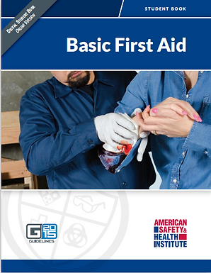 HSI Basic First Aid - Blended Format