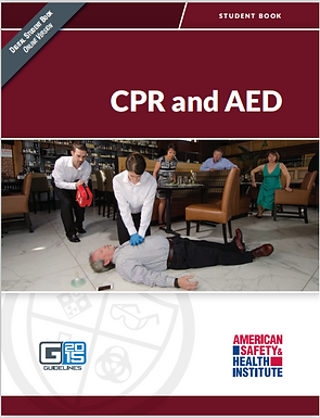 HSI CPR / AED (Adult)  -  Classroom format