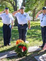 WAA CG at Mann grave 2018.jpg