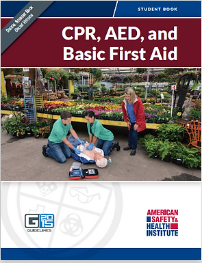 HSI CPR/AED/First Aid - Blended format