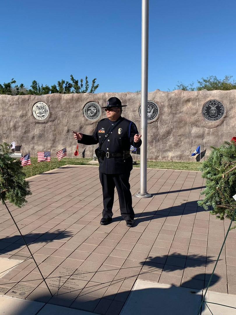 WAA RW 2018 Sgt Carmona instructing cere