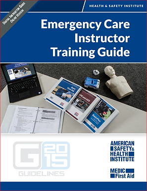 HSI: Instructor Training Course - Blended format