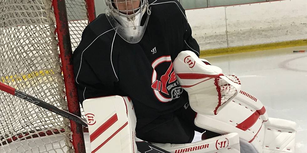 Ron Veit Adult Goalie Clinics (5 Weeks) at 8-Rinks $375+Tax ($75+tax for drop ins)