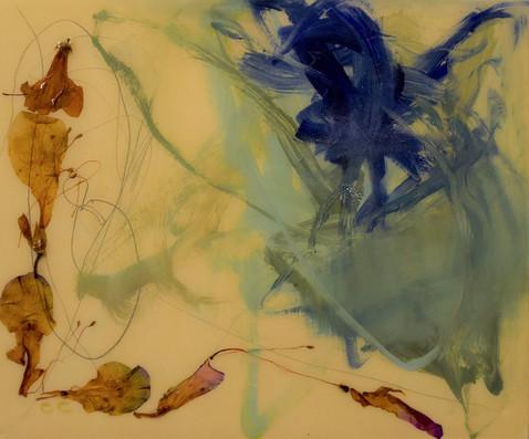 dance of the azaleas 2,oil,flowers,resin