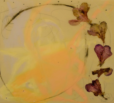 natures circle, 12x14, oil,flowers,resin on wood,2021 - Copy - Copy - Copy - Copy.JPG