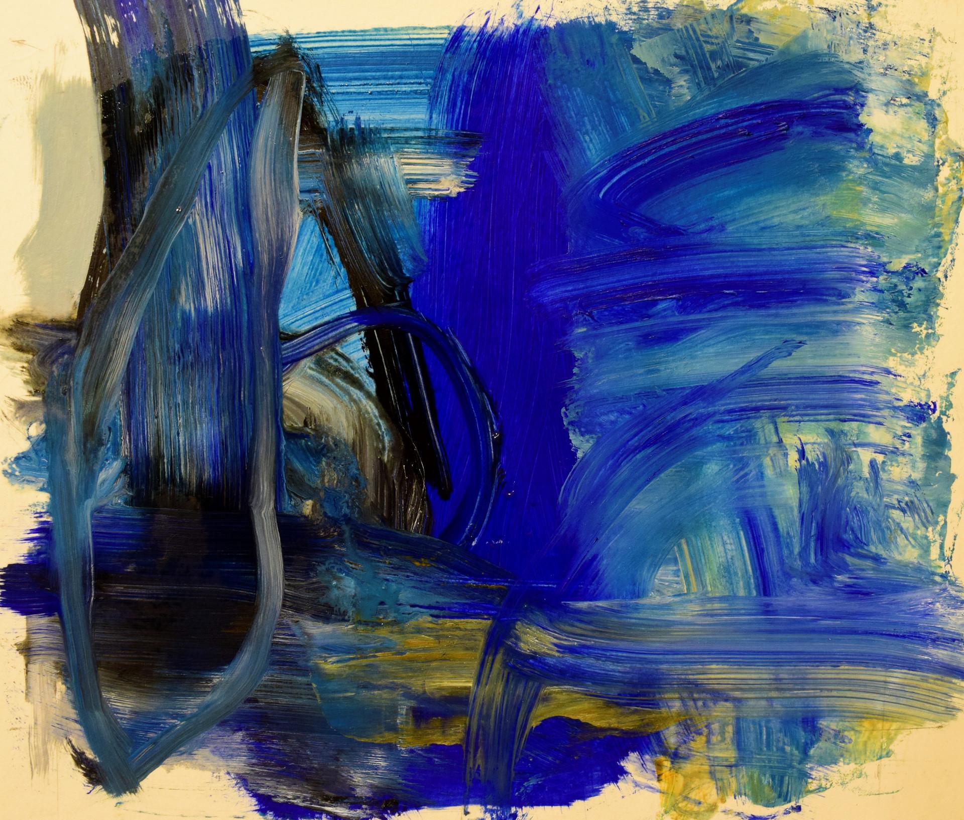 Ocean Skys series, 10x12, oil on paper,