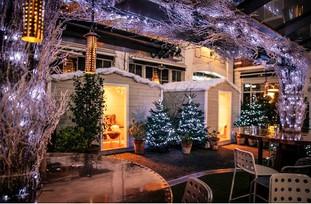 Une ambiance très Noël au Bluebird Chelsea !