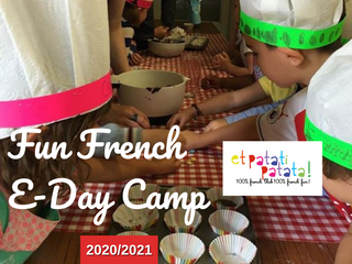 Et Patati Patata – Fun French Christmas E-Camp 2020