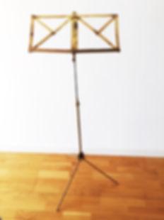 Atril partituras, music stand