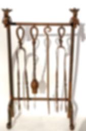 Fireplace set, set de chimenea forjado a mano