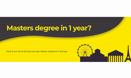 Top One Year Masters Program In Europe
