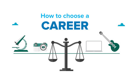 What are the right steps to choose a career?