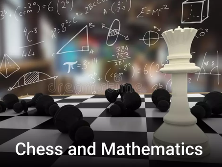 Play of math and chess