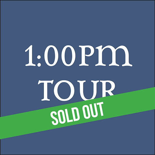 1:00PM Tour