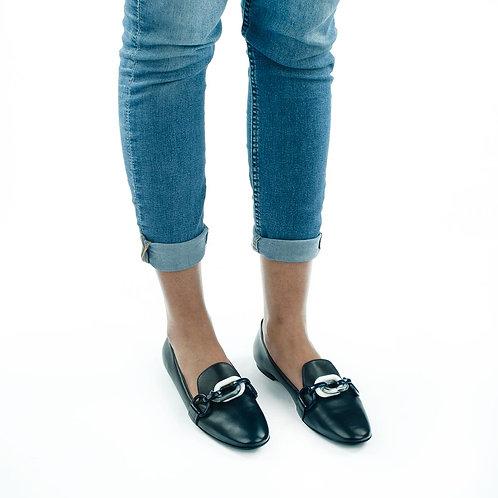 AGL Loafer Blau