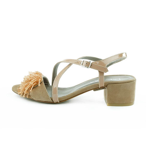 La Cabala Sandalette Nude