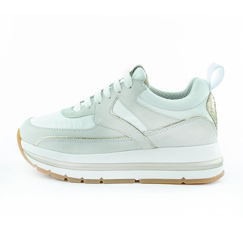 Voile Blanche Sneaker Plateau Offwhite