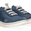 Thumbnail: Panchic nylon and suede slip-on blue